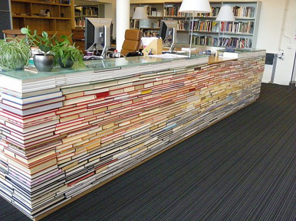 DIY library desk made from books.png