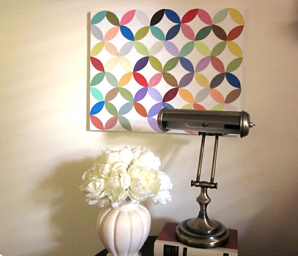 25 diy wall art ideas that spell creativity in a whole new way for Diy paint