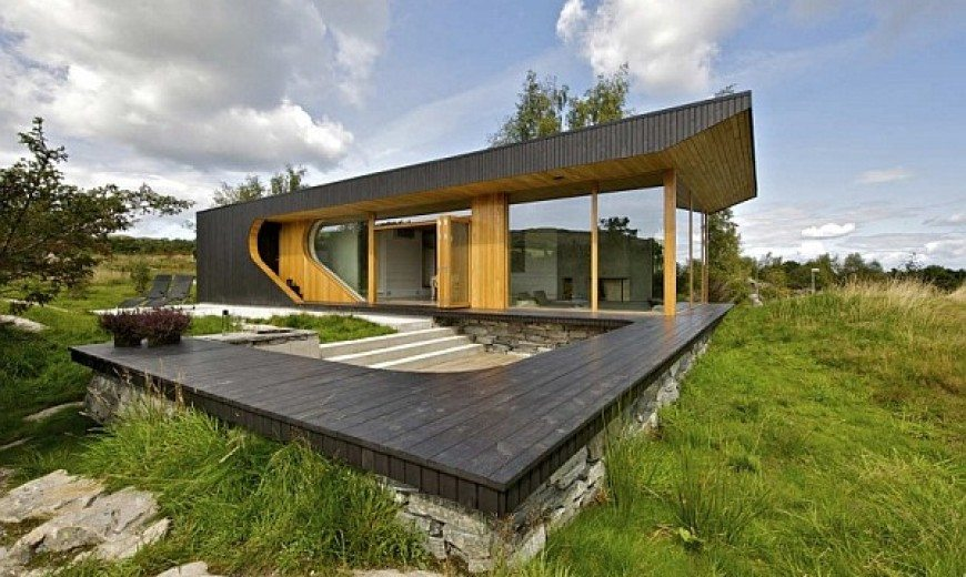 Dalene Cabin: Contemporary Home Nestled on a Beautiful Norwegian Island