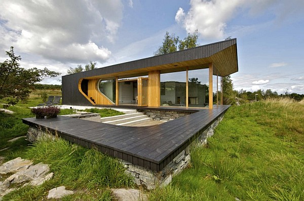 Dalene Cabin by Tommie Wilhelmsendd 1 Dalene Cabin: Contemporary Home Nestled on a Beautiful Norwegian Island