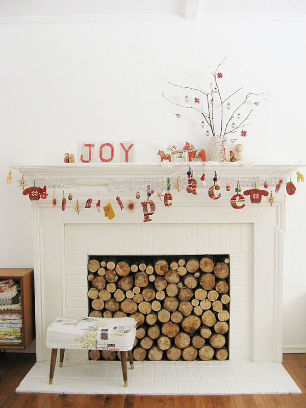 Fireplace mantlepiece decor and design