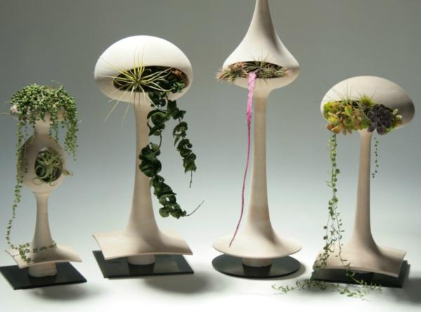 Golly Pods ceramic planters