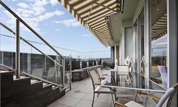 Halifax St apartment - fancy terrace