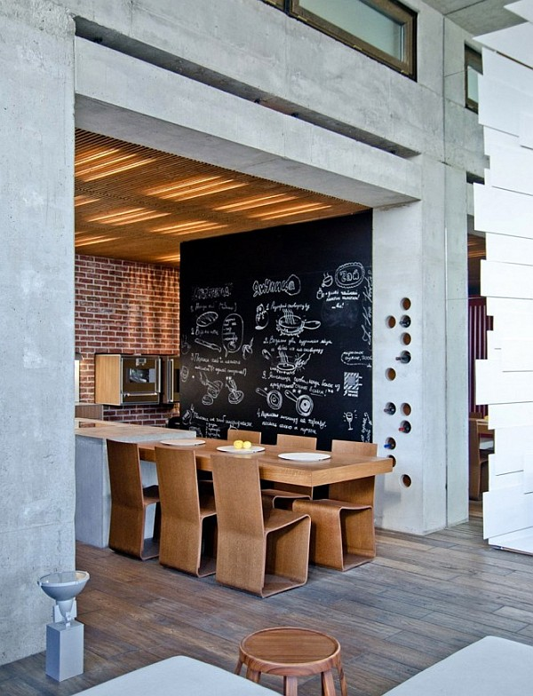 Industrial Loft Apartment 11 – cozy dining space decor
