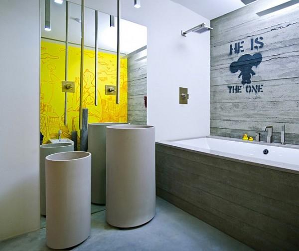 Industrial Loft Apartment 17 Creative Bathroom Design Idea Decoist