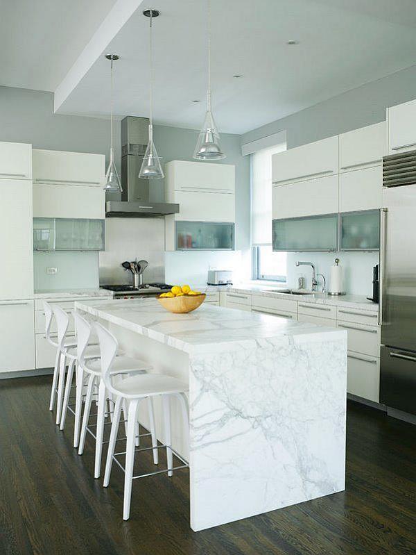 Modern Minimalist kitchen lighting