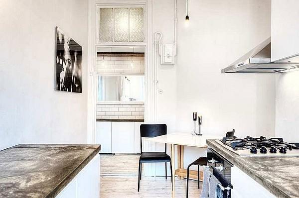 One Bedroom Apartment Stockholm 5 – white kitchen decor