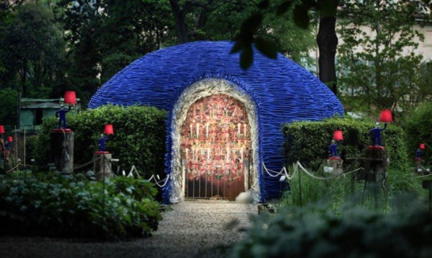 Secret Garden: Zaha Hadid and Paola Navone Create a Fairytale Land With Dazzling Design