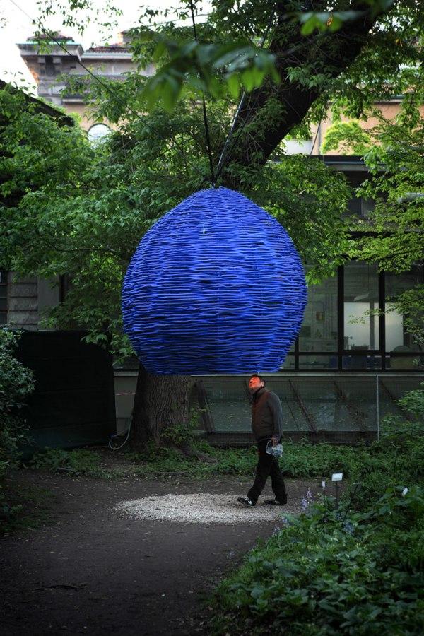 Secret garden zaha hadid and paola navone create a for Garden designer milano