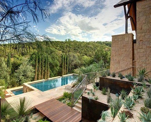 Sonoran Desert Modern Villa Rough Landscape Decoist