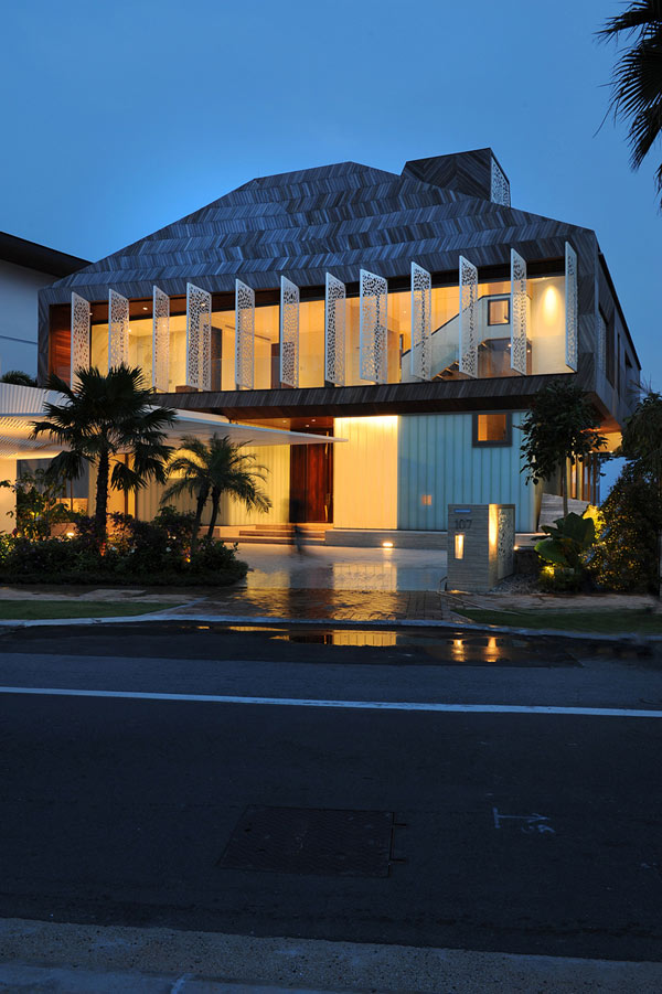 Stereoscopic House Singapore 3 – front view