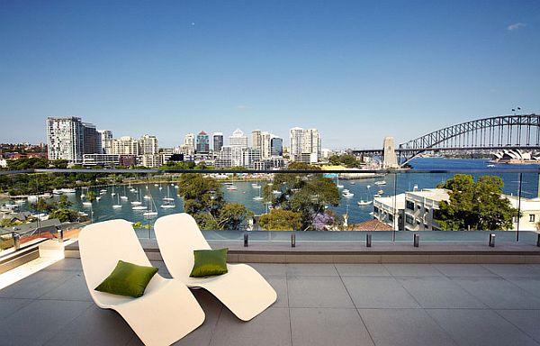Sydney Penthouse Fancy Terrace With Amazing City Views
