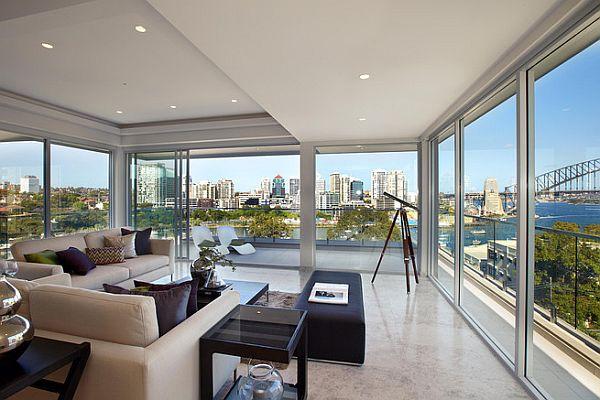 Stunning australian inner city penthouses for Apartment design nsw