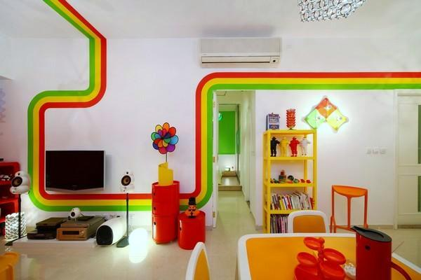 Rainbow Designs 20 Colorful Home Decor Ideas