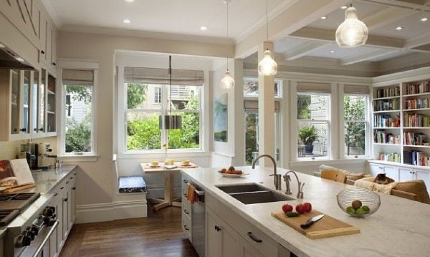 White Kitchen Nook 22 stunning breakfast nook furniture ideas