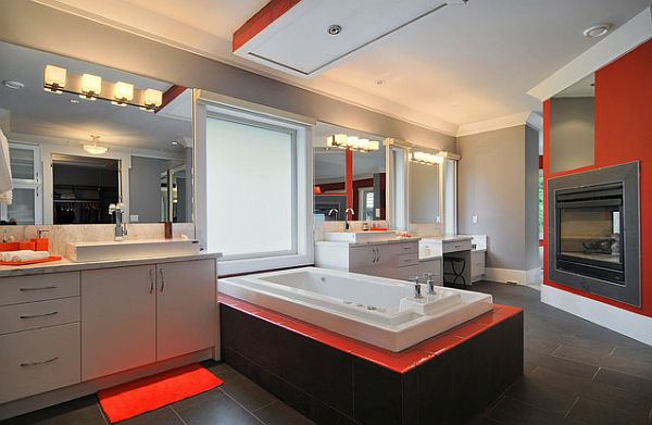 orange bathroom. View in gallery Orange  Pulp Up Your Bathroom with Shades of