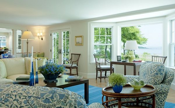 Lovely How To Utilize The Bay Window Space