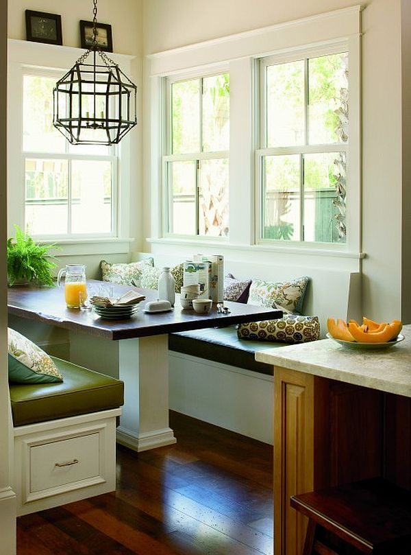 view in gallery - Breakfast Nook Kitchen Table Sets