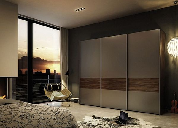 Modern sliding doors wardrobes adding style to your bedroom for Modern cupboard designs