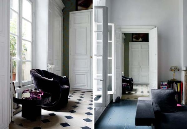 black-and-white-hallway-design-600x415