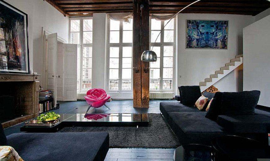 Parisian Apartment Mixes German Minimalism with French Exuberance