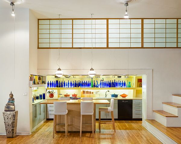 blue-bottles-dining-room-decor