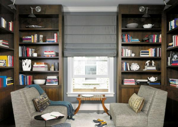 idea 2 create symmetry - Bookcase Design Ideas