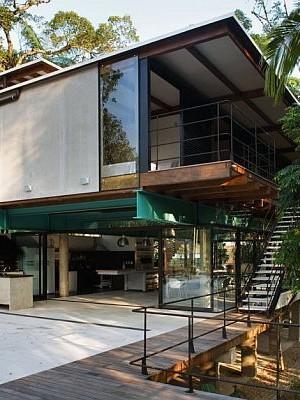 brazil modern summer house 1