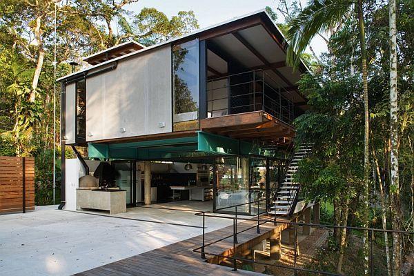 brazil modern summer house 1 Modern Summer House in Iporanga, Brazil