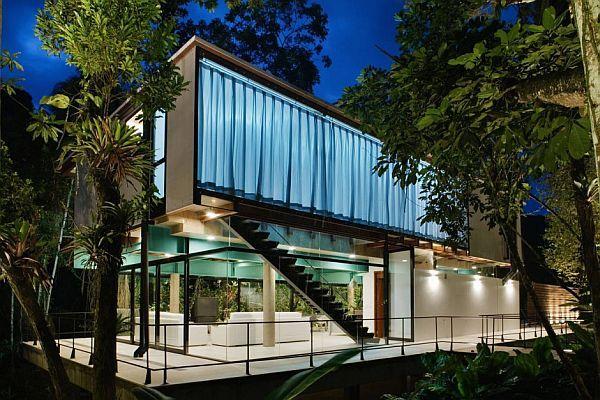 brazil modern summer house 2