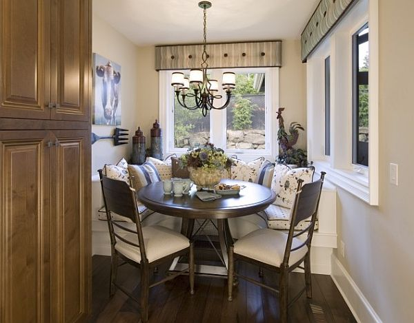 Wood Breakfast Nook Furniture ~ Stunning breakfast nook furniture ideas