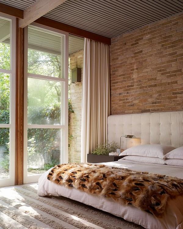 liked - Brick Wall Bedroom