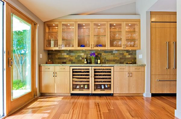 Six tips for fabulous hardwood floors for Built in kitchen cabinets