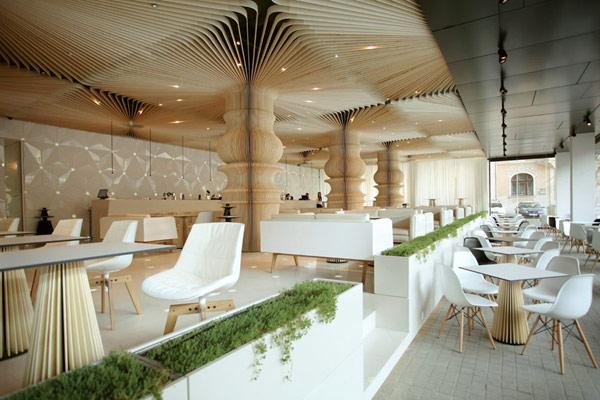 cafe interior design – graffiti, bulgaria 8