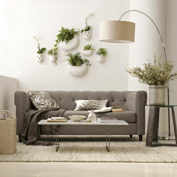 Wall Plant Decor decorating with houseplants