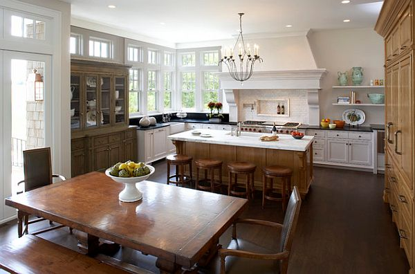 Outstanding Combined Kitchen And Dining Room Images - 3D house ...
