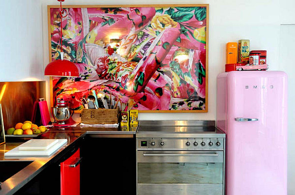 colorful kitchen wall art