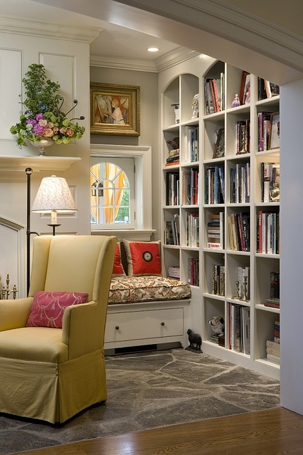17 Cozy Reading Nooks Design Ideas