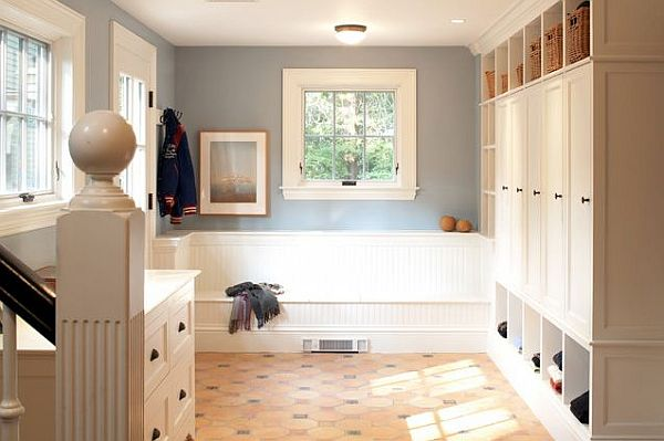 contemporary entry mudroom How to Design a Practical Mudroom