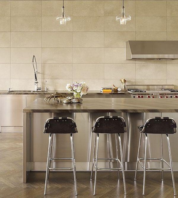 contemporary granite countertop kitchen