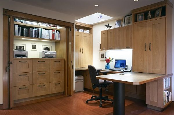 storage ideas for home office. View In Gallery By Harrell Remodeling Storage Ideas For Home Office