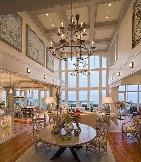High Ceiling Lighting creative ideas for high ceilings