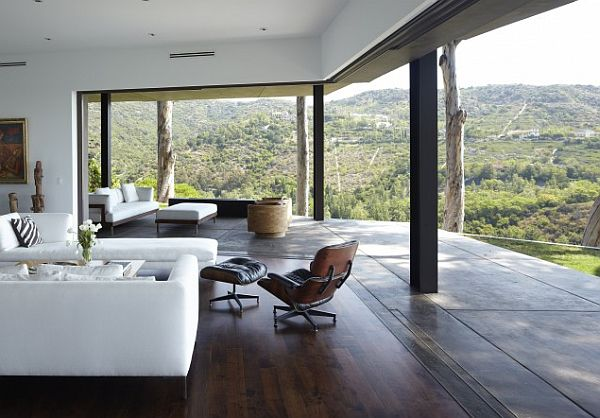 contemporary living room deck with beautiful views Stunning Unique Decks: 16 Inspirational Ideas