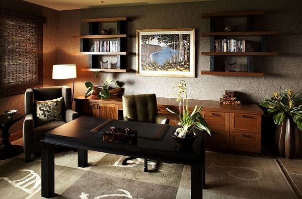 View In Gallery Cozy Tropical Home Office Design Tips To Make The Most Of Your Home Office Space