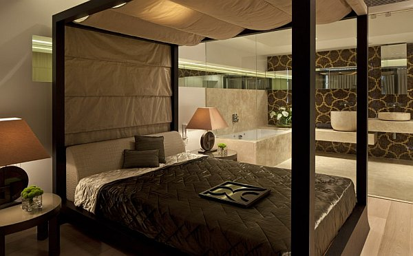 Netanya penthouse in israel has amazing panoramic for Best ensuite designs