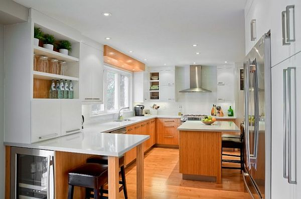 custom white contemporary kitchen furniture Commercializing Your Home Kitchen: Pro Appliances for a Pro Chef