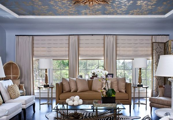 Magnificent Roman Shades Living Room Windows 600 x 416 · 52 kB · jpeg