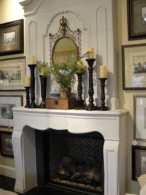 eclectic-fireplace-mantlepiece-with-candles-and-mirror