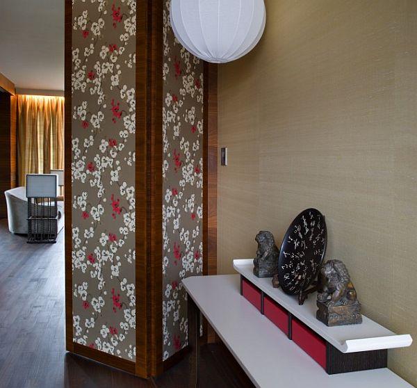 contemporary parkowa apartment in warsaw poland