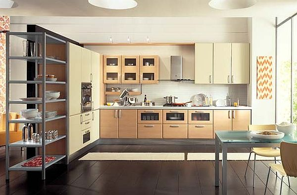european kitchen cabinets and shelving units